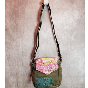 RECYCLED MILITARY TENT CROSSBODY 1 of 1